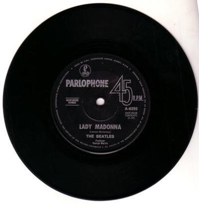 Image for Lady Madonna/ The Inner Light