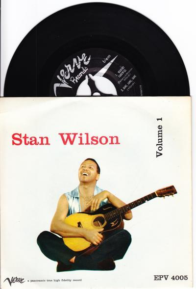 Stan Wilson/ 1957 Italian 4 Track Ep+cover