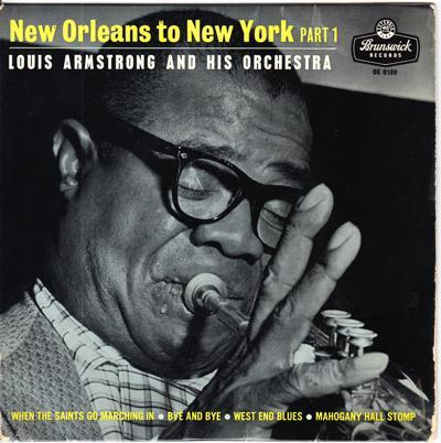 New Orleans To New York/ Uk 1959 Tri Center Ep + Cover