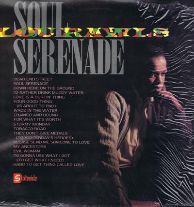 Soul Serenade/ 1985 16 Track Rarity