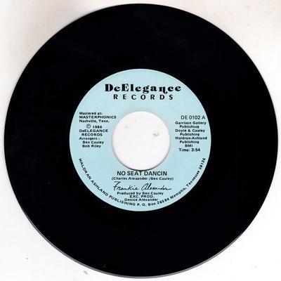 Frankie Alexaner - No Seat Dancin / Takre Time Out For Love - DeElegance DE 0102