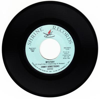 Jimmy Armstrong - Mystery / I'm About To Say Goodbye - Shrine 102