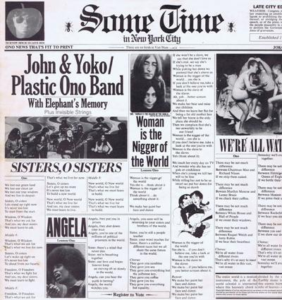 Sometime In New York/ Immaculate 1972 Uk Press