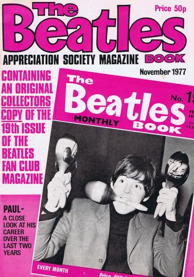 Beatles Book Appreciation Society Mag/ Includes Beatles Monthly #19