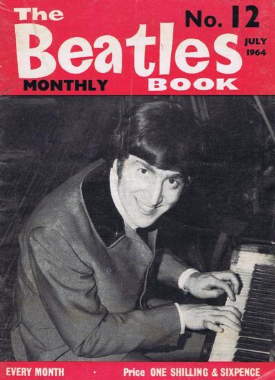 Beatles Monthly Book/ Issue 12 July 1964