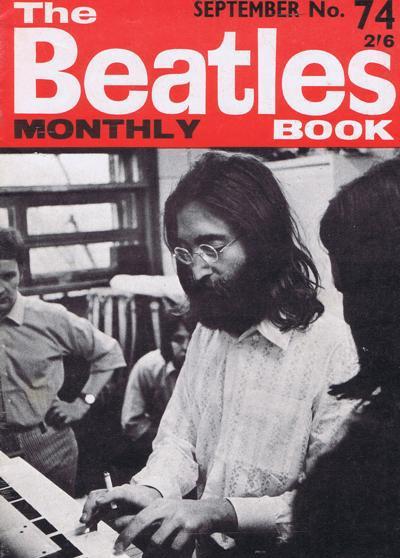 Beatles Monthly Book #74/ Original September 1969 Copy