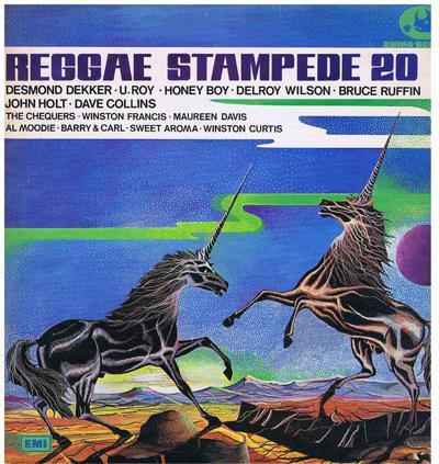 Reggae Stampede 20/ 1974 Uk Press