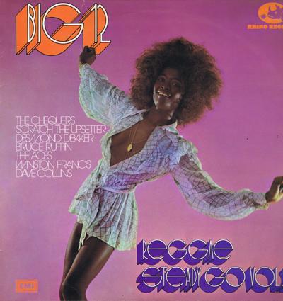 Reggae Steady Go Volume 2/ 1973 Uk Press