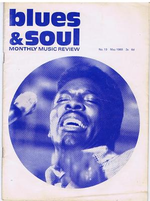 "Blues & Soul - no. 19 May 1969 / inc: 8 ""On Disc"" supllement inside - Contempo 18"