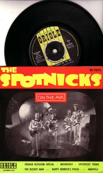 Oin The Air/ 1963 6 Track Ep With Cover