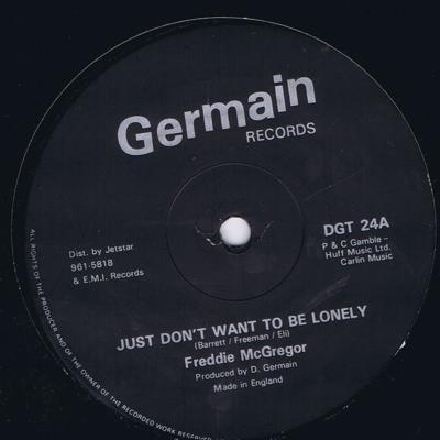 Just Don't Weant To Be Lonely/ Version