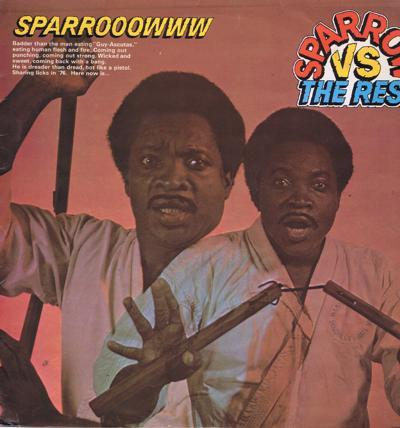 Sparrow Vs The Rest/ 1976 Uk Press