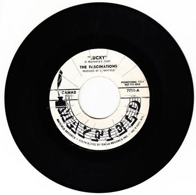 Fascinations - Lucky (instrumental) / Say It Isn't So - Mayfield 7711 DJ