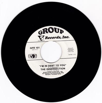 Innersection - Let Me Love Yuh / I'm In Debt To You - Group 5 GFR 101