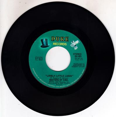 Masters Of Soul - Lovely Little Lassie / Star Child - Duke DK 481