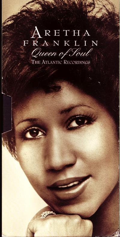 Queen Of Soul - Atlantic Recordings/ 1992 4 Cd + Book