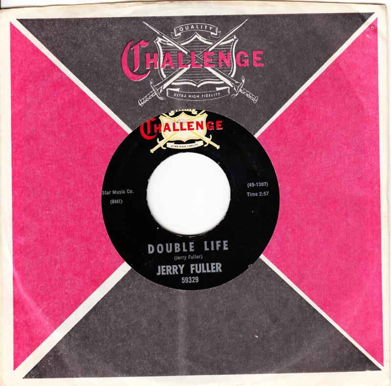Jerry Fuller - Double Life / Turn To Me - Challenge 59329