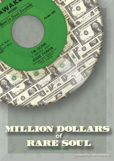 Million Dollars Of Rare Soul Hardback/ 1000 Scans Of The Rarest 45s
