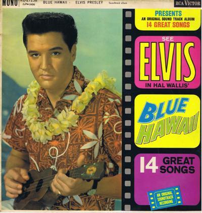 Blue Hawaii/ Original 1960 Uk Mono Press
