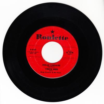 Sugar Corsage/ A Southern Boy Sings The Blues