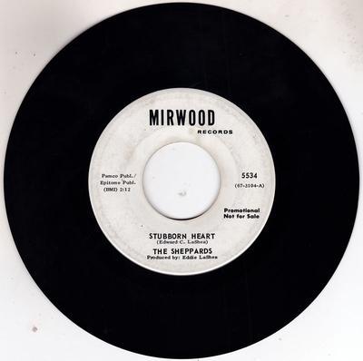Sheppards - Stubborn Heart / How Do You Like It - MIrwood 5534 DJ