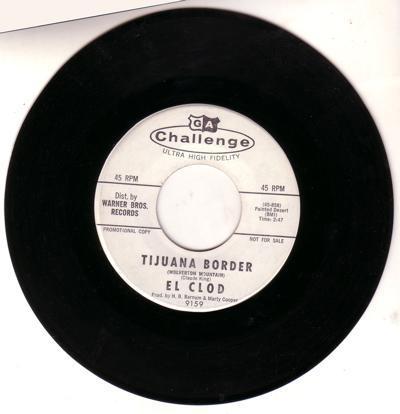 Tijuana Border (wolverton Mountain)/ Perdro's Piano Roll Twist