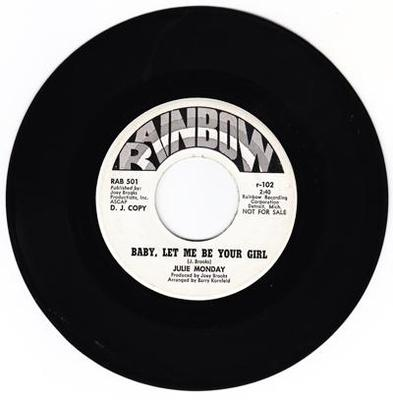Image for Baby Let Me Be Your Girl/ The World Is Watchin' Us