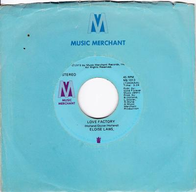 Eloise Laws - Love Factory / Stay With Me - Music Factory MS 1013