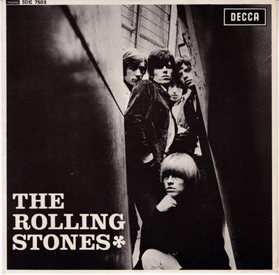 Rolling Stones - Rolling Stones / 1965 UK EP with cover - Decca SDE 7503 EP PS