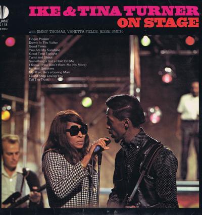 Ike And Tina Turner Show/ Rare 1965 Uk Stereo Press