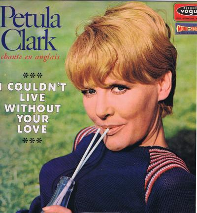 I Couldn't Live Without Your Love/ Original 1966 French Press