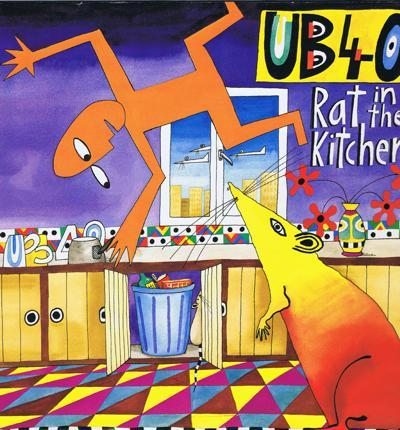Rat In The Kitchen/ Immaculate 1988 Uk Press