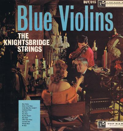 Blue Violins/ Immaculate 1960 Uk Press
