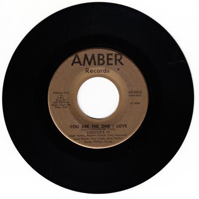 Fugitive's IV - You are The One I Love / Blue Fugitive - Amber AR 8615