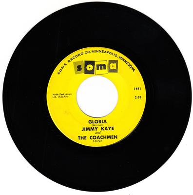Jimmy Kaye and the Coachman - Gloria / Debbie - Soma 1441