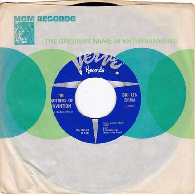 Mothers Of Invention - Why Don't You Do Me Right / Big Leg Emma - Verve VK 10513