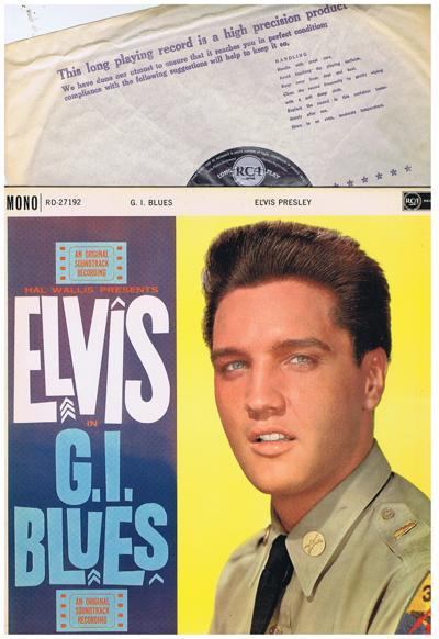 G.i. Blues/ 1960 Uk Mono Press