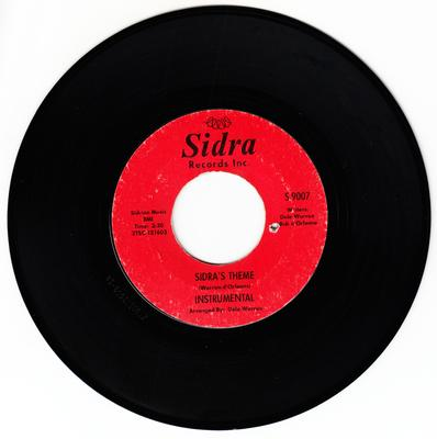 Ronnie & Robyn - Sidra's Theme / Blow Out The Candle - Sidra S 9007