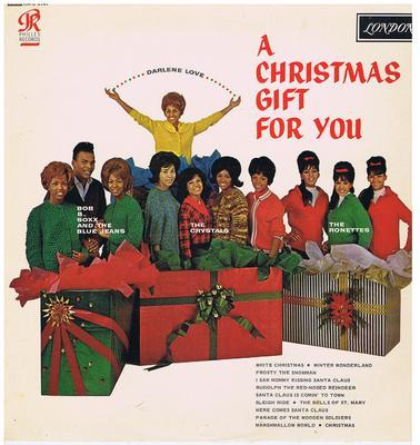 Various Artists - A Christmas Gift For You / original 1963 UK mono - London HA-U 8141