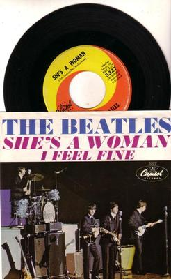 Image for She's A Woman/ I Feel Fine