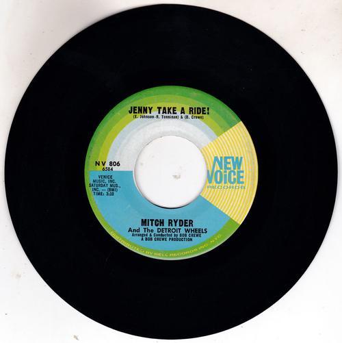 Jenny Take A Ride/ Baby Jane (mo-mo Jane)