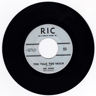 You Talk To Much/ I Love You Still