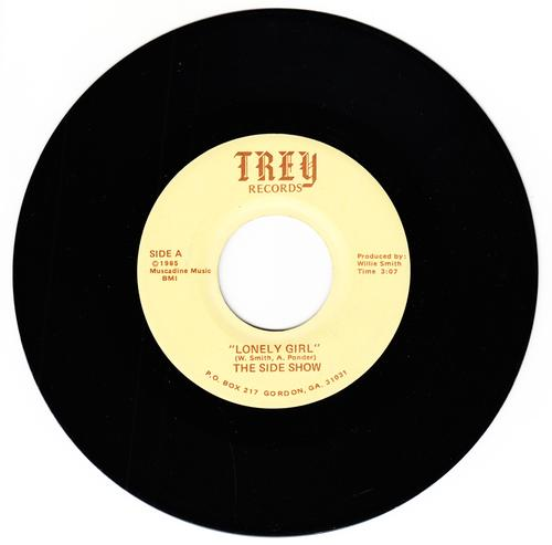 Side Show - Lonely Girl / You are The One For Me - Trey 1007