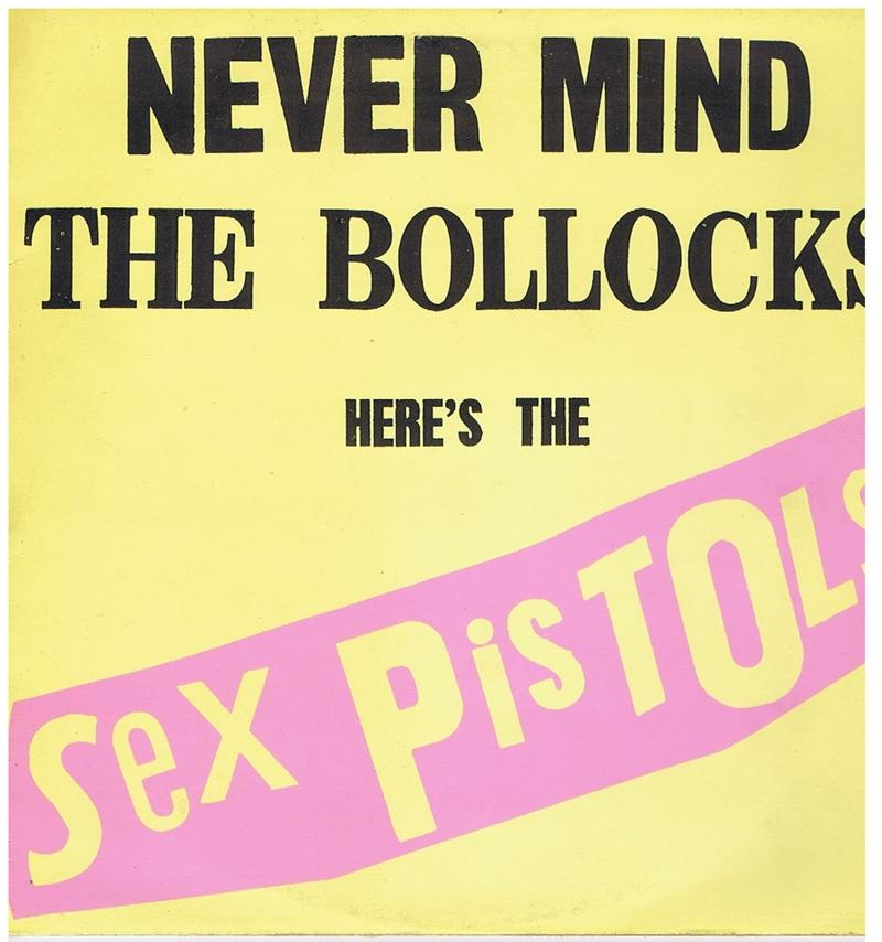 Sex Pistols - Never Mind The Bollocks Here's The Sex Pistols  / Orginal 1977 UK press - Virgin V 2086