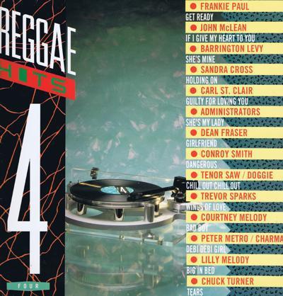 Reggae Hits 4/ 1988 Uk 14 Track Compilation