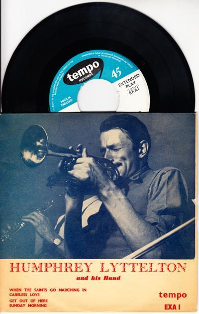 Humphrey Lyttelton/ 1955 Uk 4 Track Ep With Cover