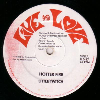 Hotter Fire/ Mad Man & Coal Man