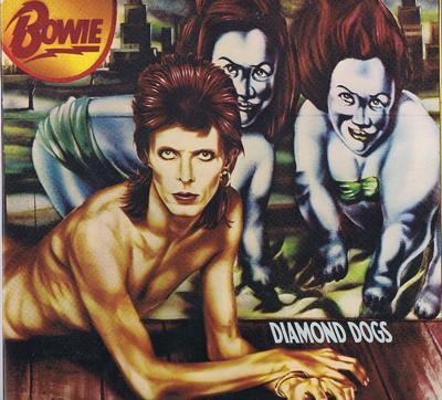 Diamond Dogs/ Original 1974 Uk In Gatefold