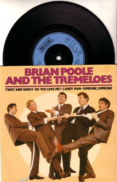 Brian Poole And The Tremeloes/ 1980 Uk 4 Track Ep With Cover