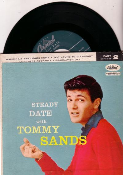 Steady Date With Part 1/ Original 1957 Usa Ep Wth Cover